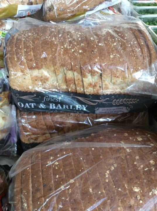 Tesco oat and barley bread