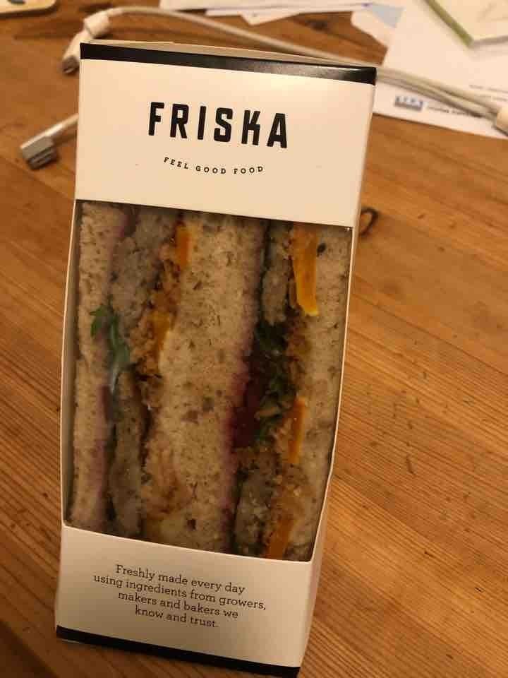 Vegan Christmas friska sandwich