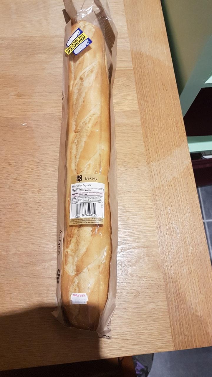 White Parisien Baguette