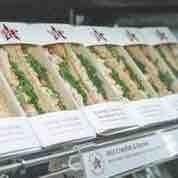 Pret Sandwiches (meat)