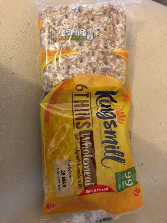 Kingsmill thins - wholemeal