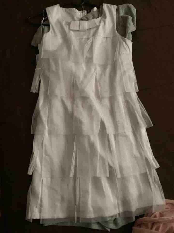 vestido blanco talla M