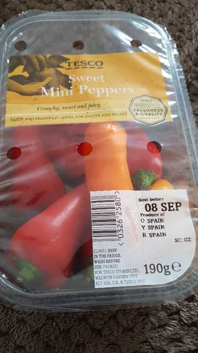 Sweet Mini Peppers