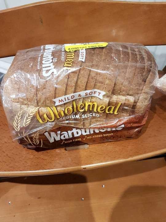 Warbutons wholemeal loaf