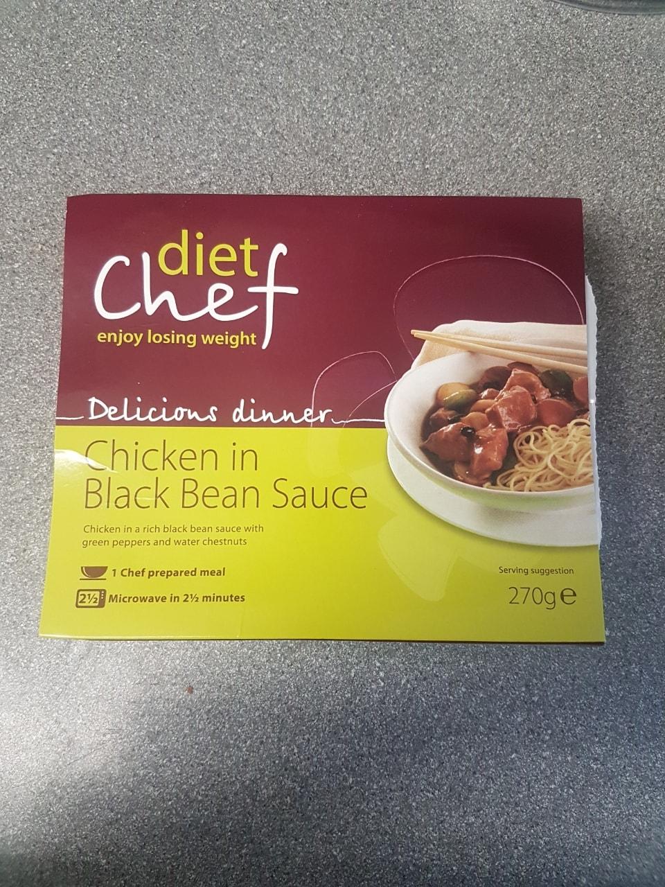 Diet Chef chicken in black bean sauce