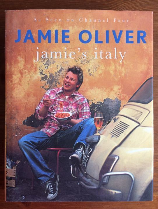 Jamie's Italy- Jamie Oliver cookbook
