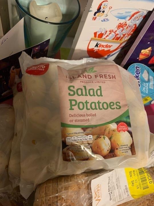 Salad potatoes
