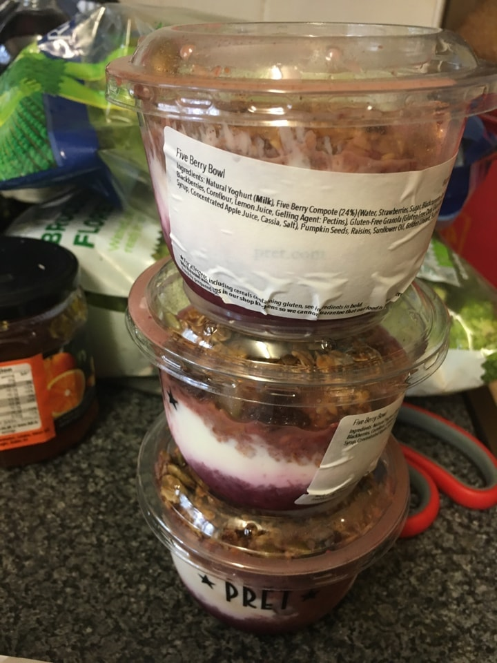 Pret five berry bowl