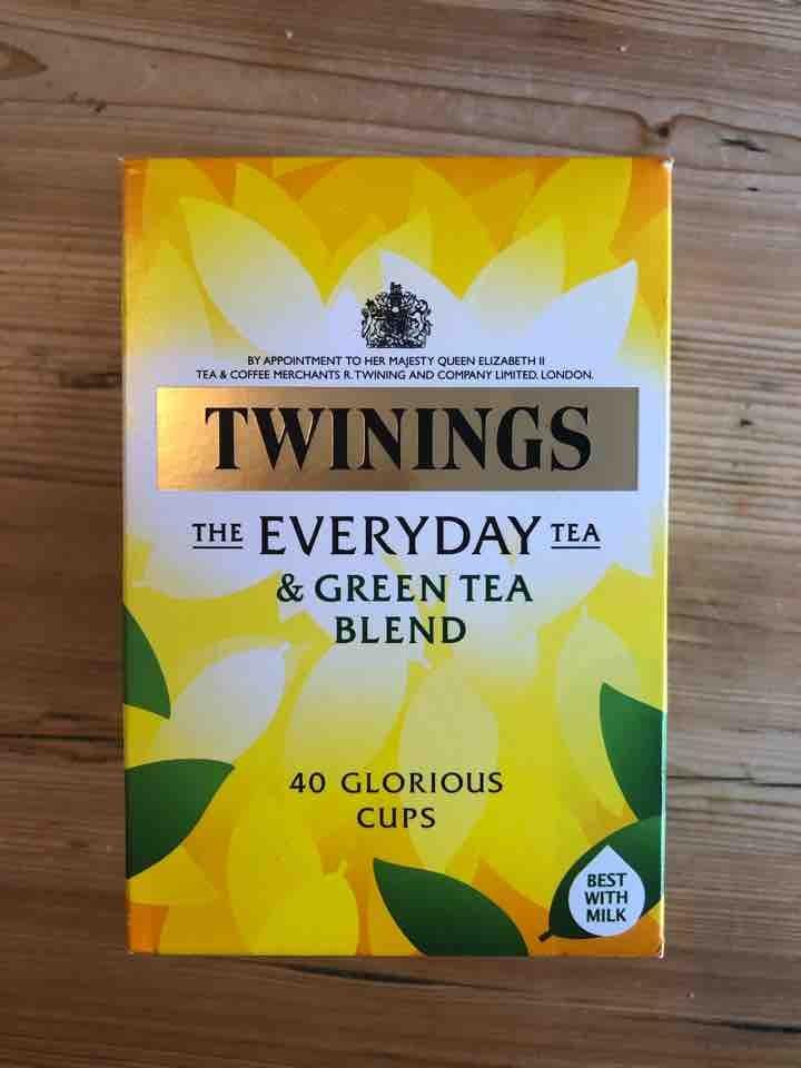 Twinings everyday green blend tea