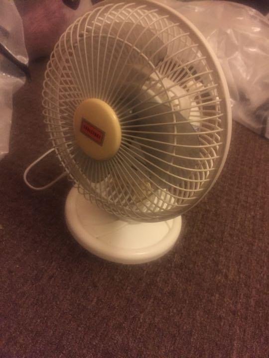 Working fan