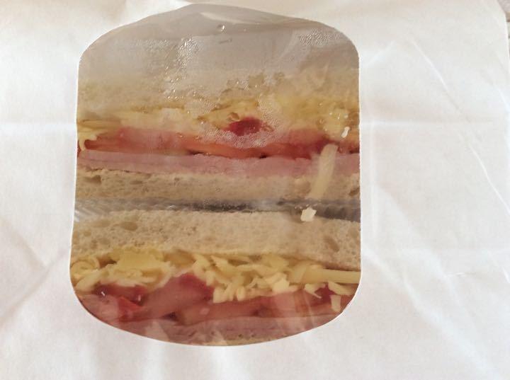 Cheese / Ham sandwich