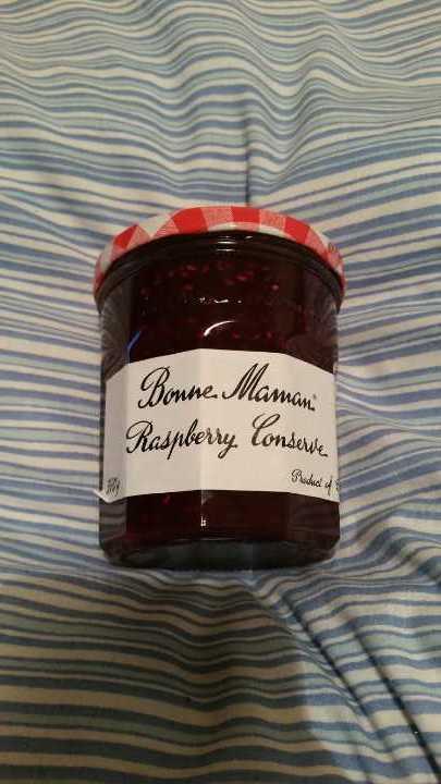 Raspberry conserve unopened