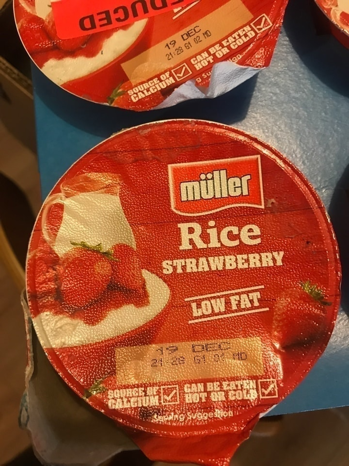 Muller rice strawberry
