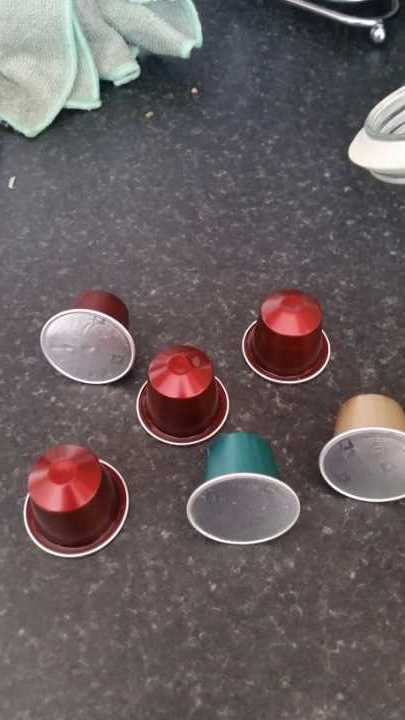 6 nespresso pods