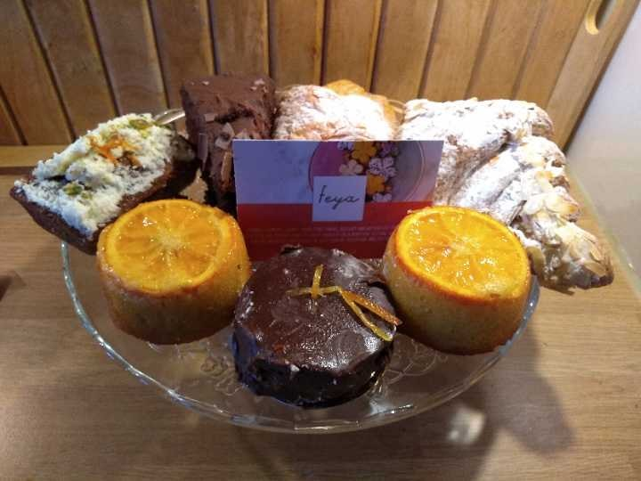 Delicious Patisseries,  Veggie Quiche, kindly donated by Faye Cafe