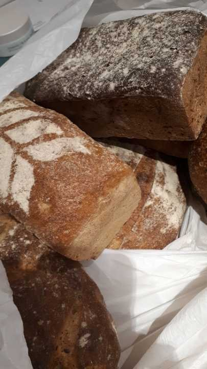 6 x various brown loaves from bakery pick up