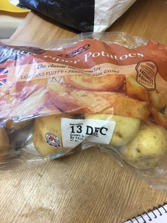 Maris pipers potatoes