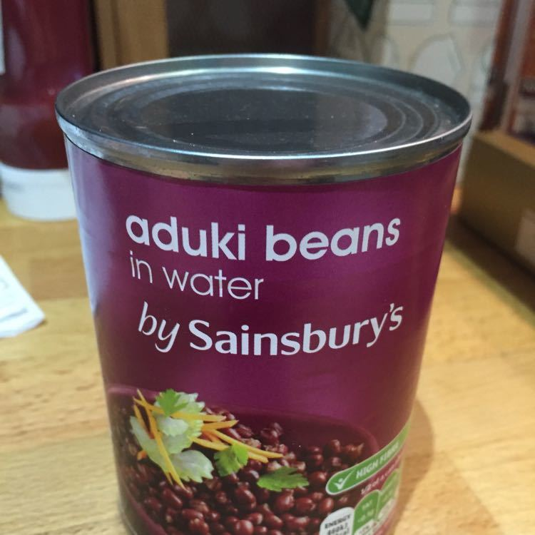 Aduki beans in water