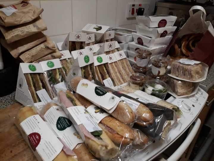 PRET SANDWICHES AND BAGUETTES AND MORE