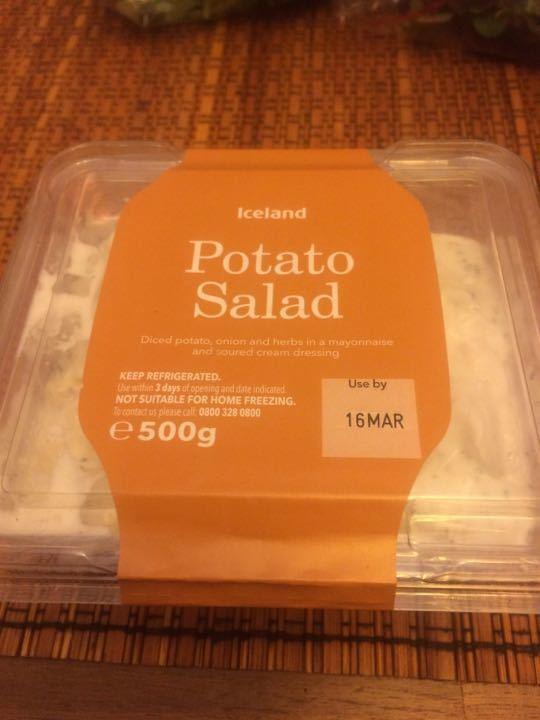 Potato salad: 1 left
