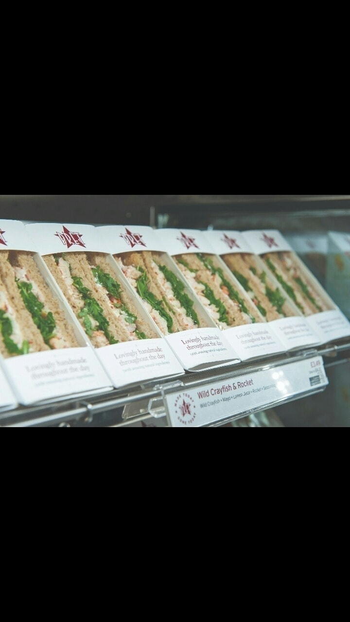 PRET A MANGER Fresh Food  - M16 0GA - Weds 10pm - 10:15pm / Thurs 9 - 9:30am