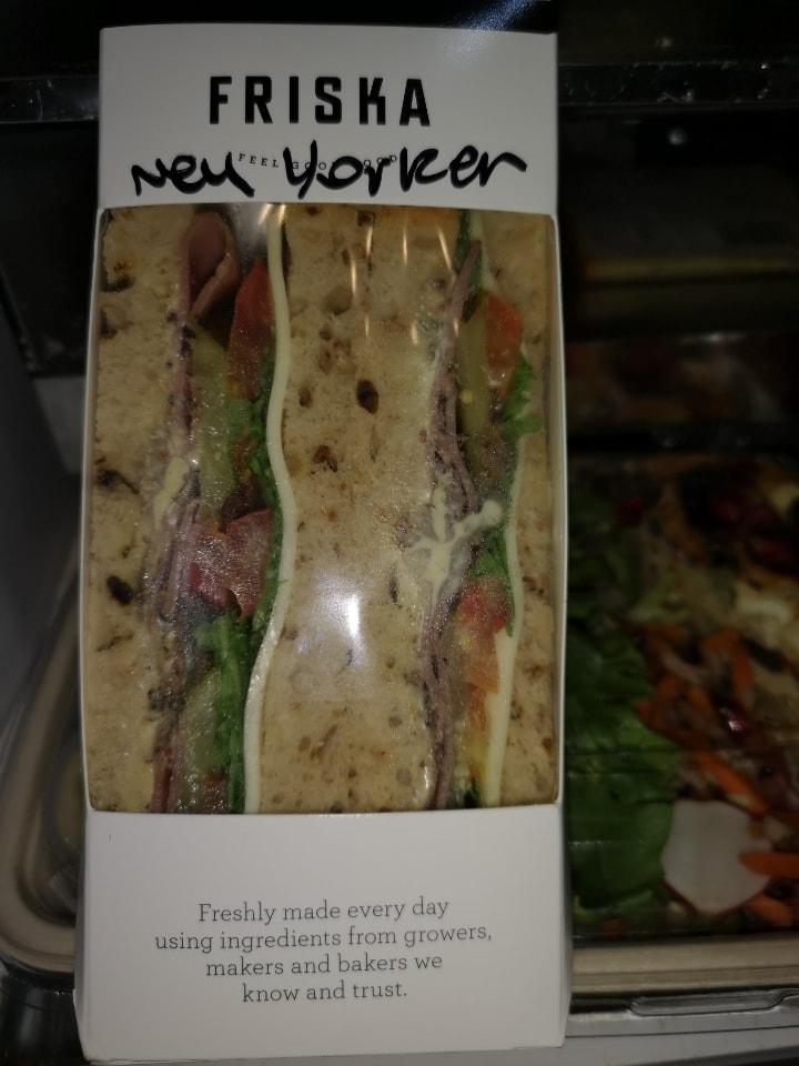 FRISKA New Yorker Sandwich