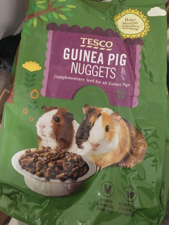 Guinea pig nuggets