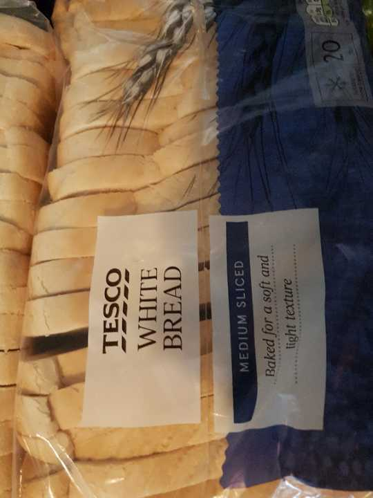 Tesco white bread
