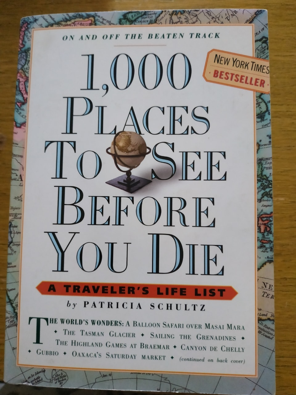 Book - 1000 places to see before you die
