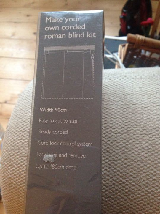 John Lewis Roman Blind Kit
