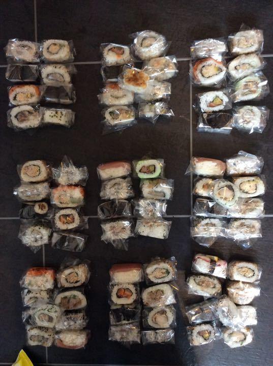 Bento sushi mix