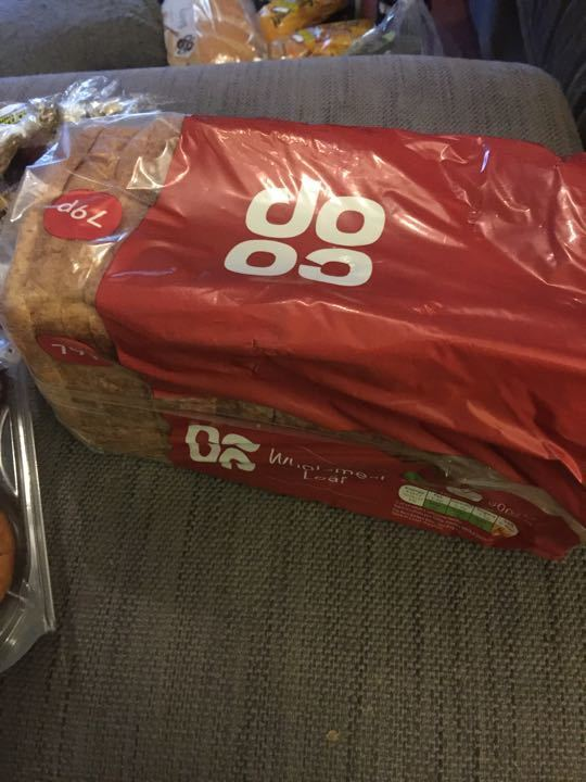 Coop wholemeal loaf