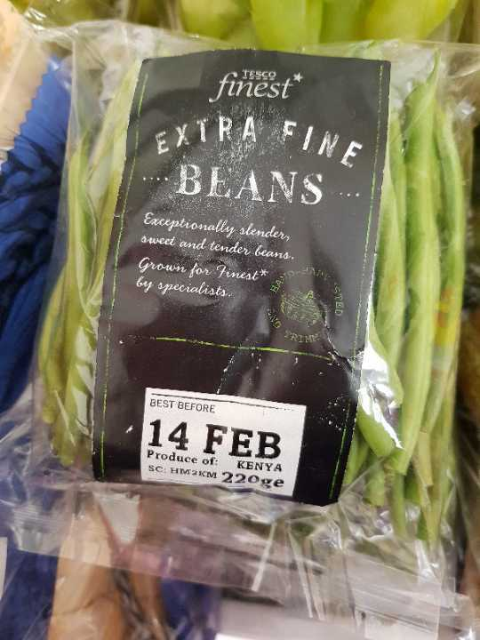 Extra fine bean