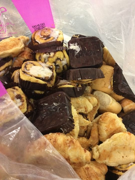 Assorted Pastries (no nut allergies)