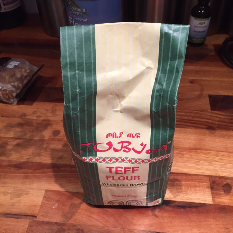 Whole grain Teff flour