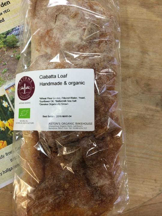 organic ciabatta loaf