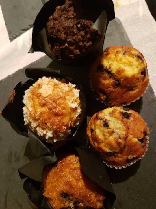 Various muffins