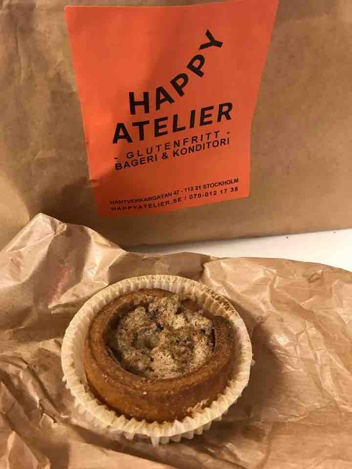 Fresh glutenfree cardamom bulle from Happy Atelier (27/05)