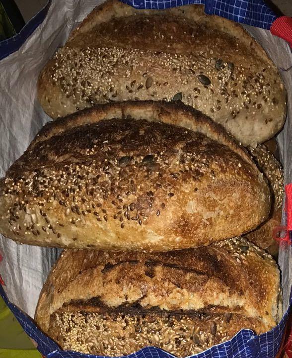 Organic Multigrain MultiSeed Sourdough Loaf