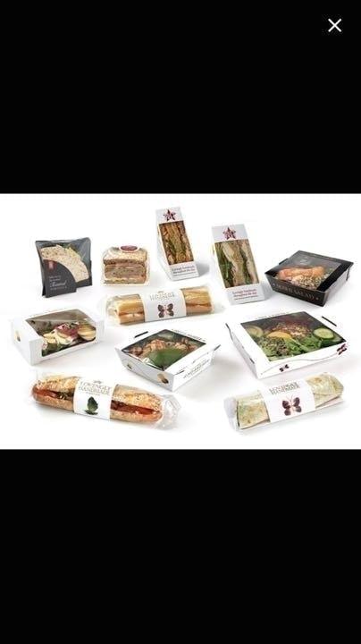 Pret Surplus Food weds  sandwiches