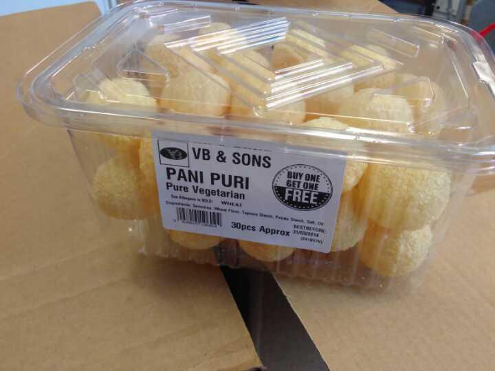 Pani Puri crispy things