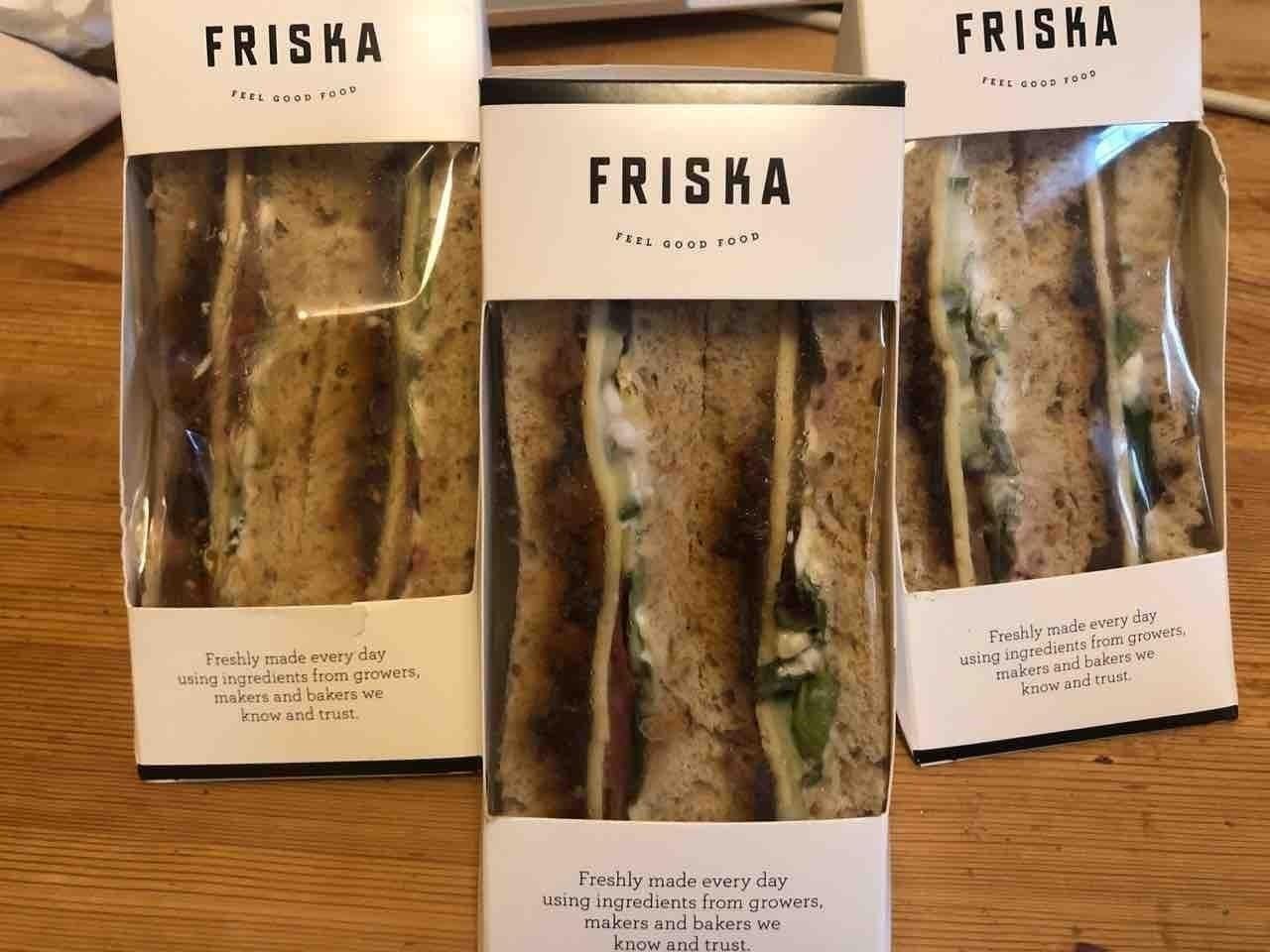 Friska vegetarian ploughman's x 3