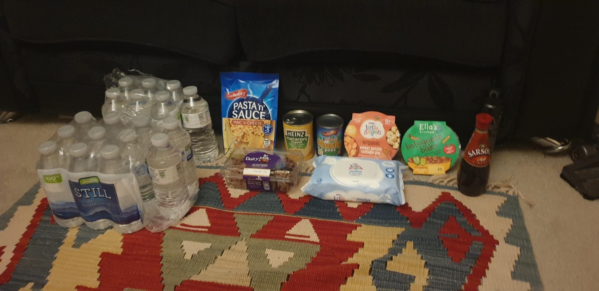 Last few items remaing before lockdown.
