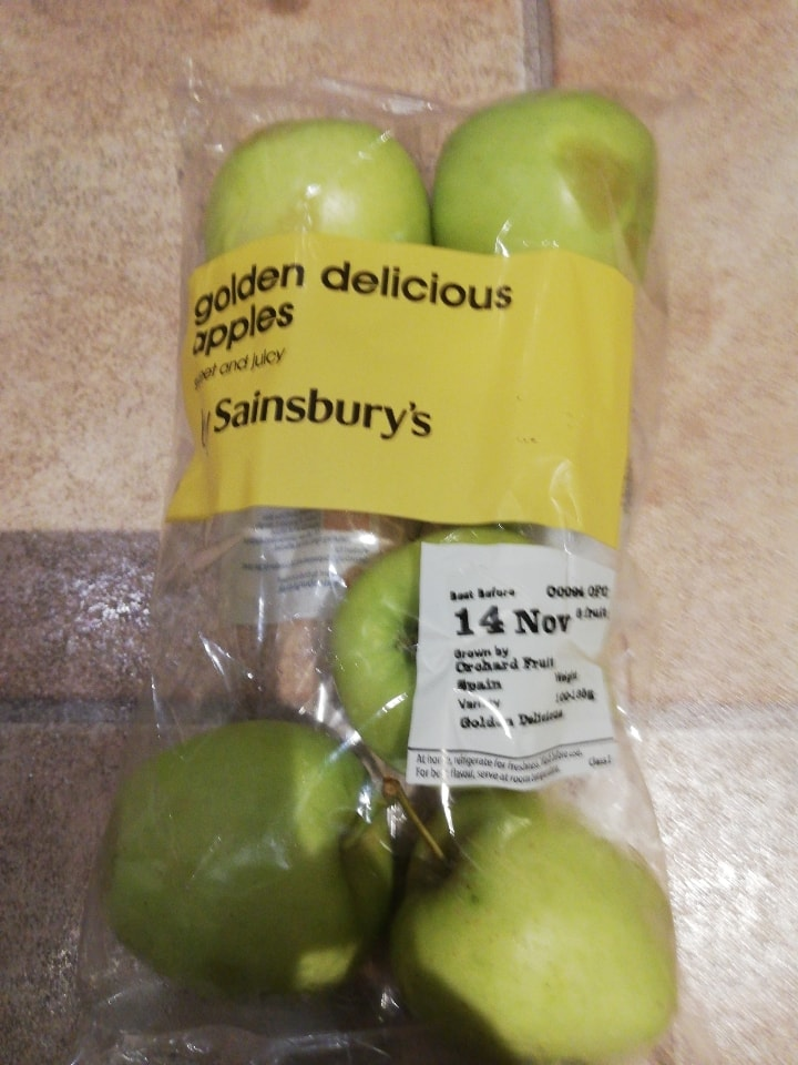 Bruised Golden Delicious 6 pack