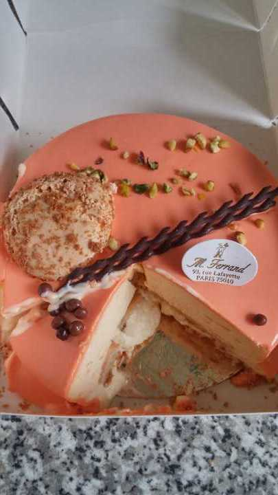 Mousse cake from Paris