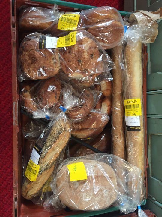 Various bread rolls