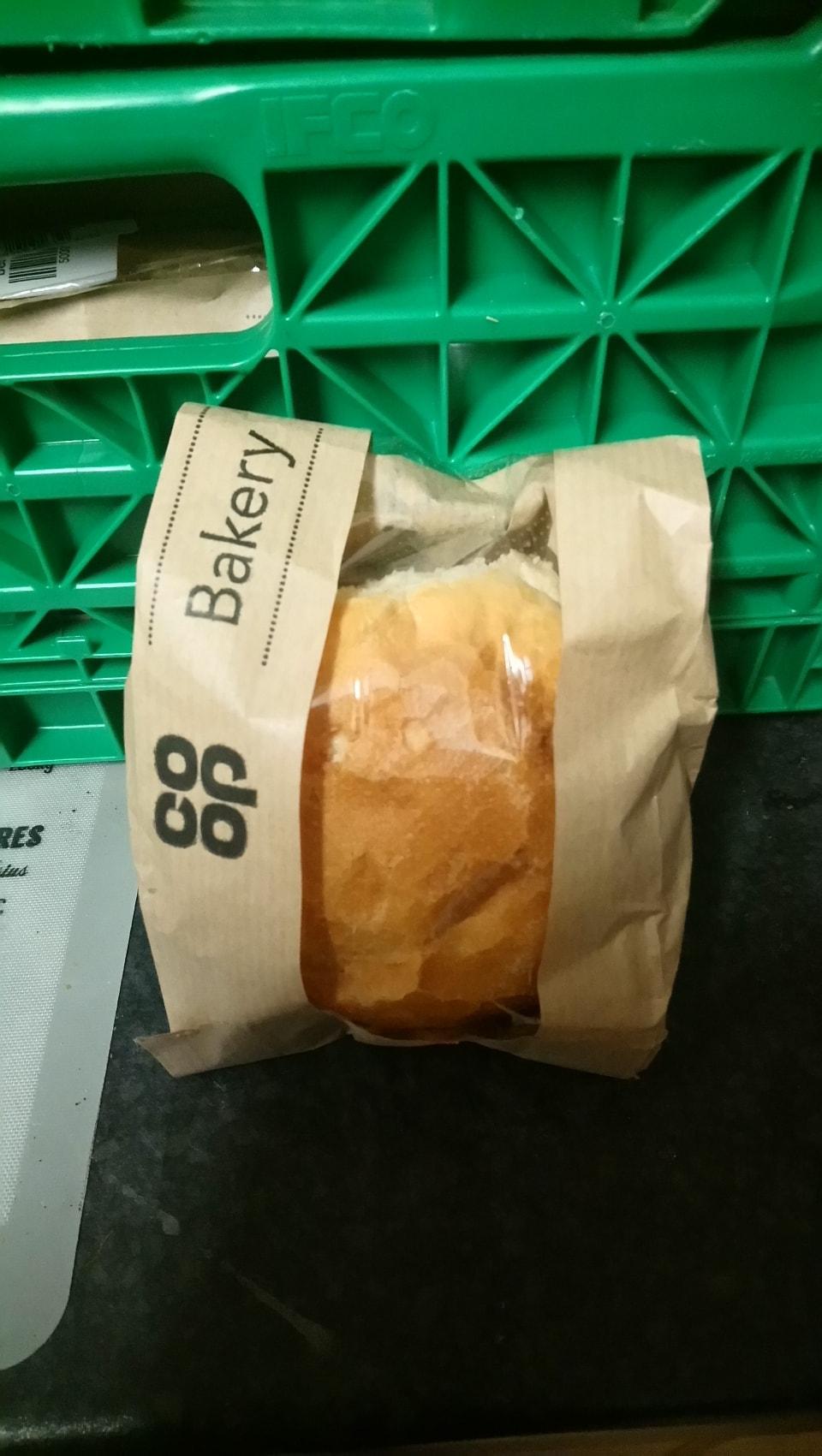 Crusty white roll