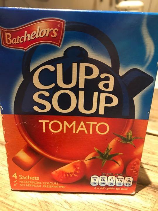 Tomato cup a soup