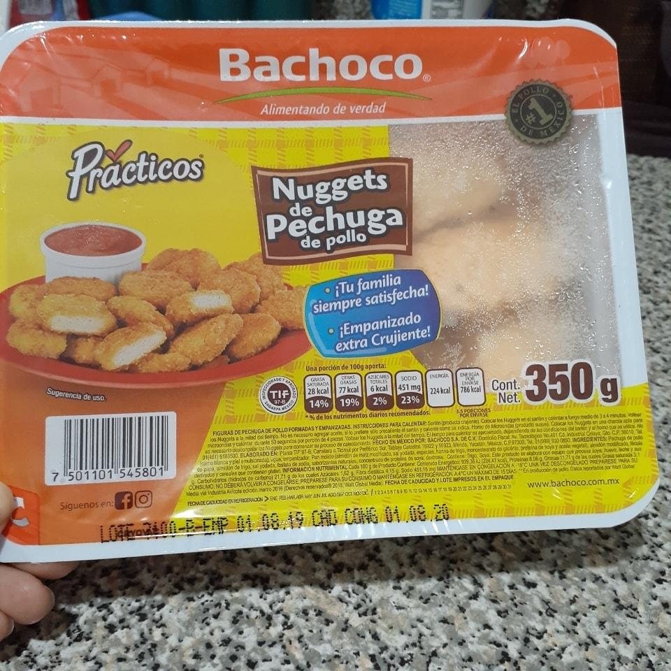 Nuggets de Pechuga de Pollo Bachoco