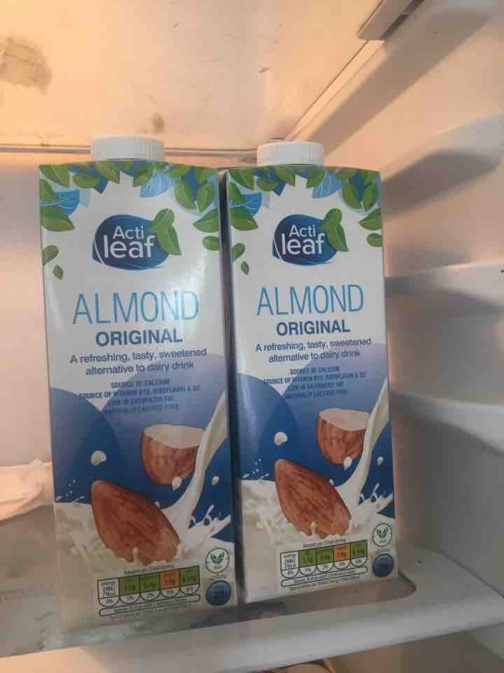 Almond milk not opened